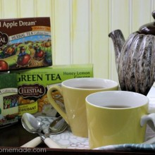5 Teas to Battle the Cold Winter Months | Stay warm and healthy this Winter with natural tea | Learn more on HoosierHomemade.com