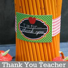 Thank You Teacher Printable Cards