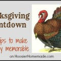 Thanksgiving Countdown: Daily tips :: HoosierHomemade.com