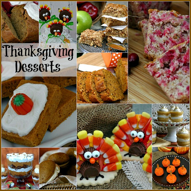 Thanksgiving Countdown: Day 10: Desserts