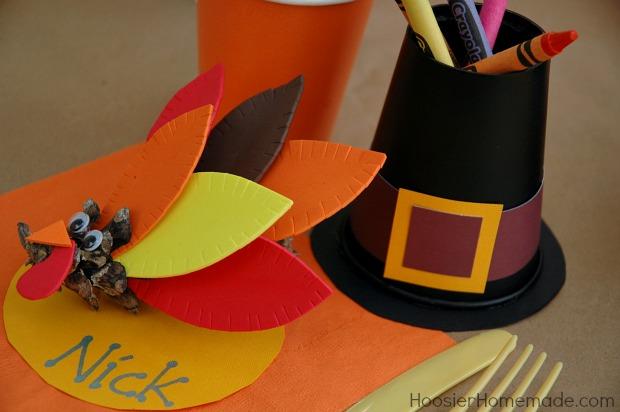 Thanksgiving Kiddie Table