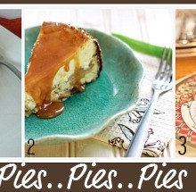 Thanksgiving PIes collage