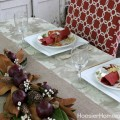Thanksgiving Tablescape | HoosierHomemade.com
