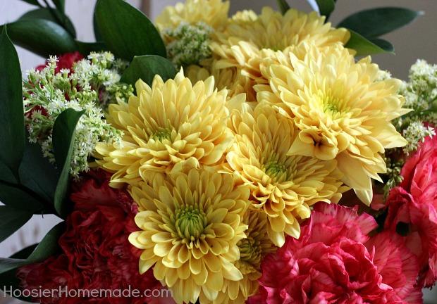Flowers for Thanksgiving