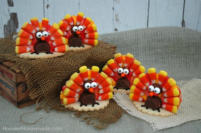 Thanksgiving Turkey Cookies