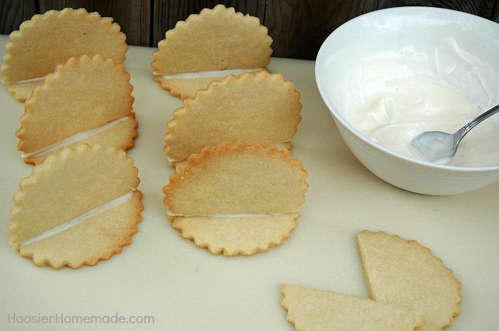 Sugar Cookies for Turkey Cookies