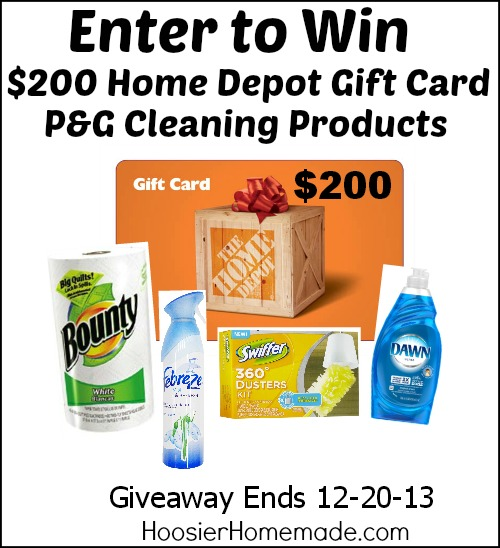 The Home Depot Giveaway