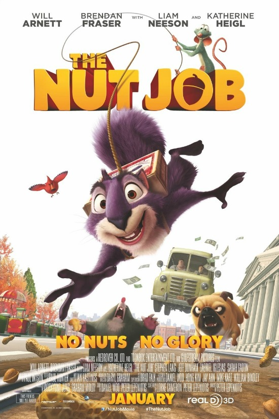 The Nut Job in Theaters January 17