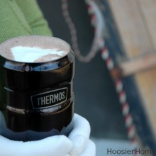 Homemade Hot Cocoa Recipe :: HoosierHomemade.com