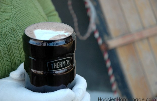 Homemade Hot Cocoa Recipe :: HoosierHomemade.com