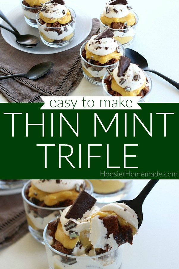 Thin Mint Trifle Dessert