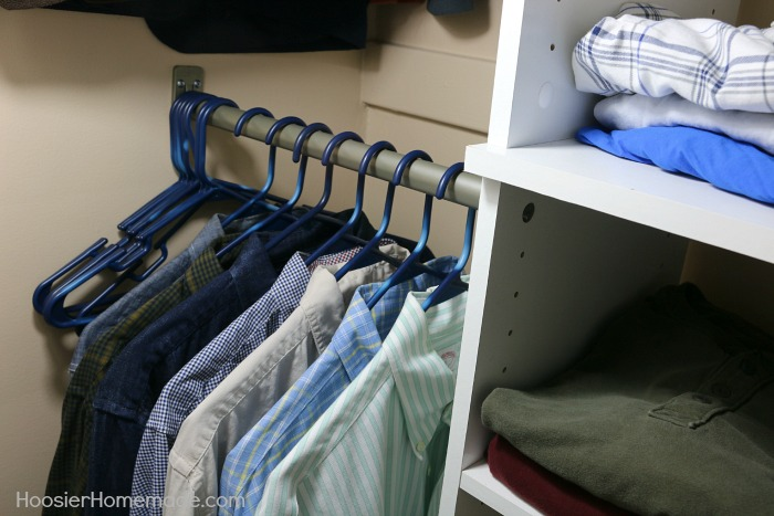 Tips on Organizing a Closet
