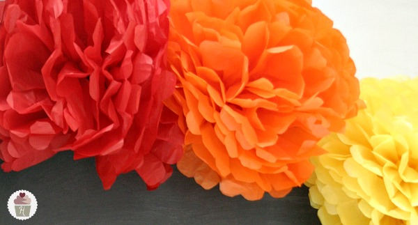 How to make tissue paper flowers hoosier homemade the ideas are endless for using these tissue paper mightylinksfo