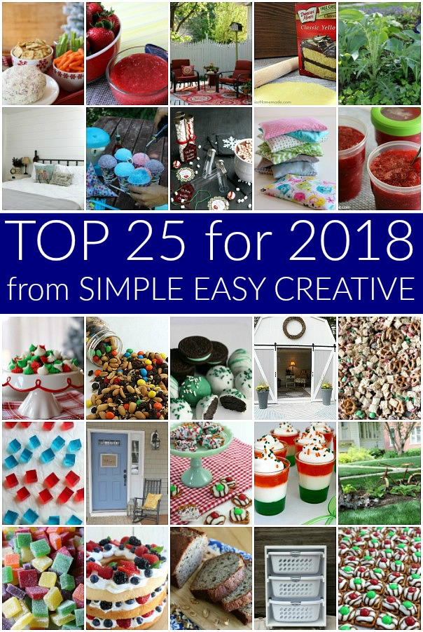 Recipes Projects for 2018