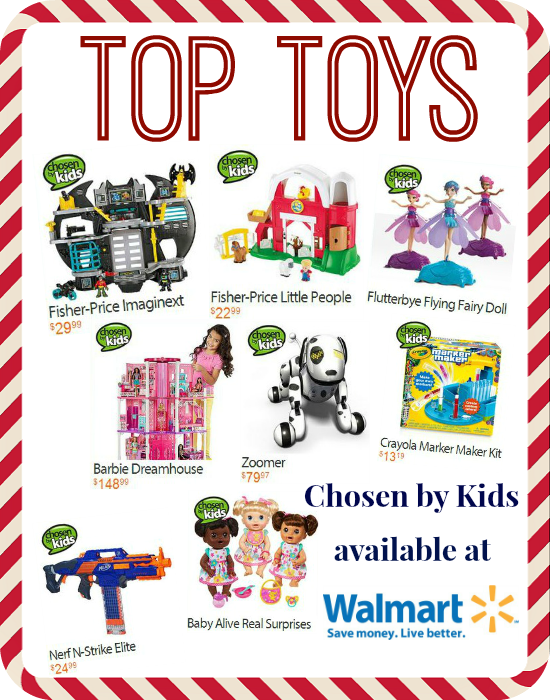 Top Toys Chosen by Kids |Available at Walmart