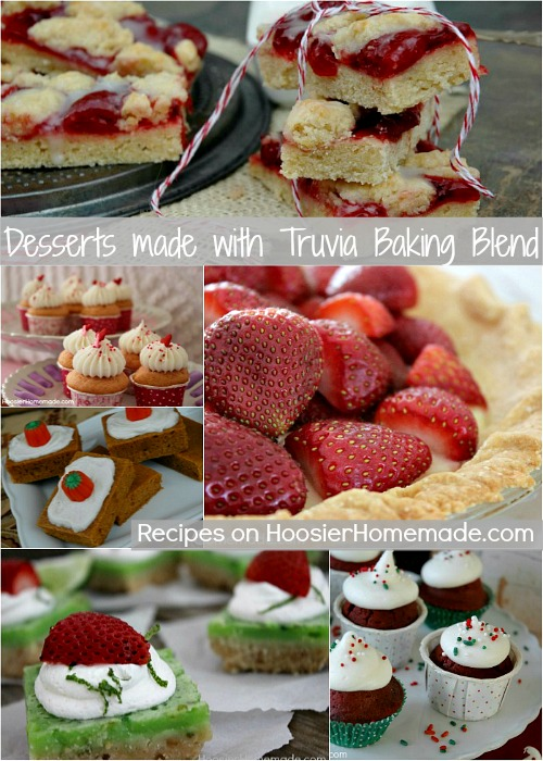 Desserts made with Truvia Baking Blend :: Recipes on HoosierHomemade.com
