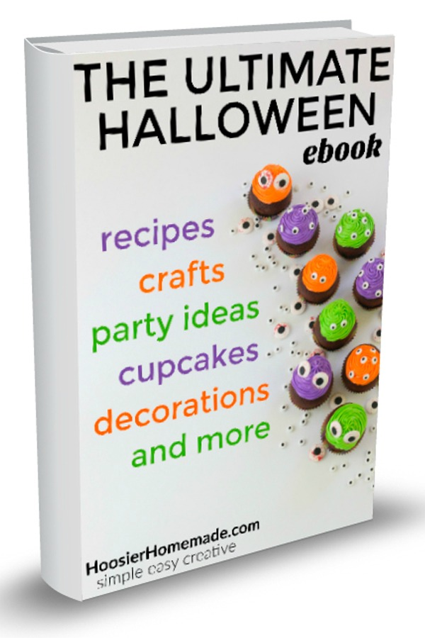 THE ULTIMATE HALLOWEEN EBOOK -- Grab your copy today and create a SPOOK-tacular Halloween! AND there is a FREE Bonus Cupcake Book too!