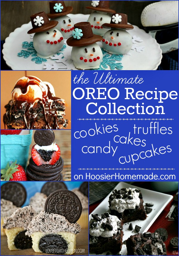 Ultimate OREO Recipe Collection on HoosierHomemade.com
