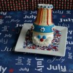 Uncle Sam Cupcakes - June 2013