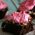 Valentine's Day Brownies :: Recipe on HoosierHomemade.com