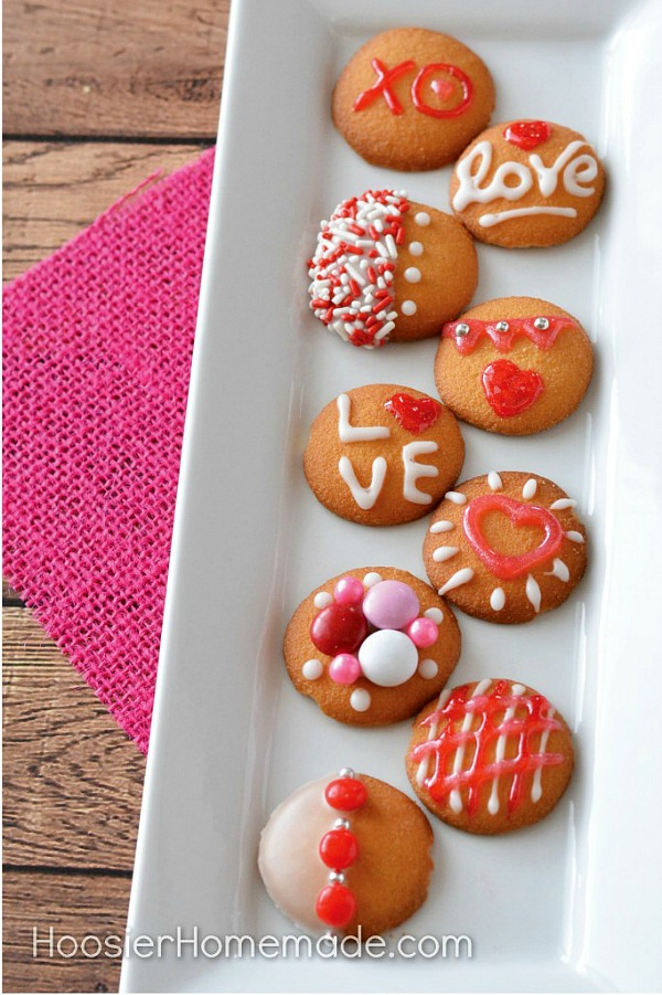 its time to whip up these super easy valentines day cookies