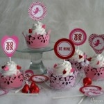 Valentine Cupcake Toppers - January 2012