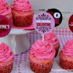 Valentine Cupcake Toppers - January 2013