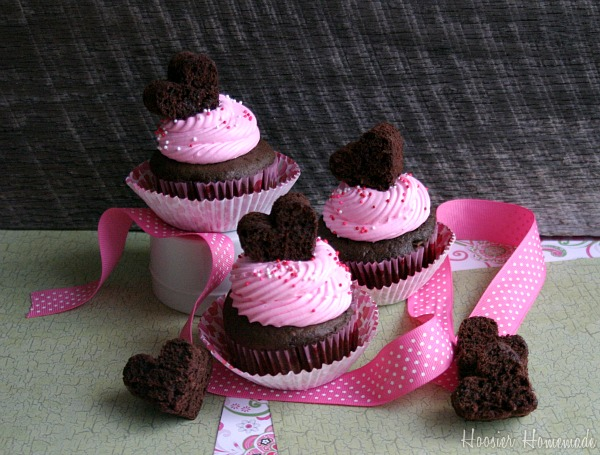 easy valentine cupcakes hoosier homemade - Valentines Cupcakes Ideas