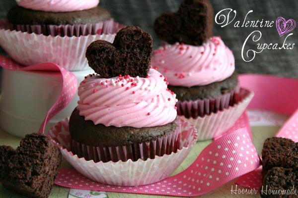 yum - Valentine Cupcake Recipes