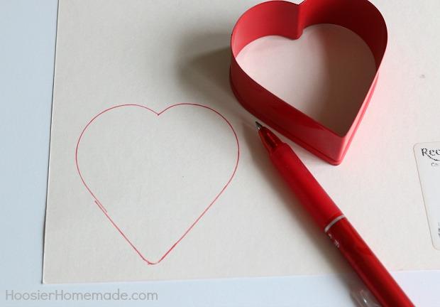 Valentine Heart Garland