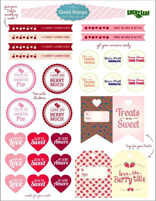 FREE Valentine's Day Printables:: Available on HoosierHomemade.com