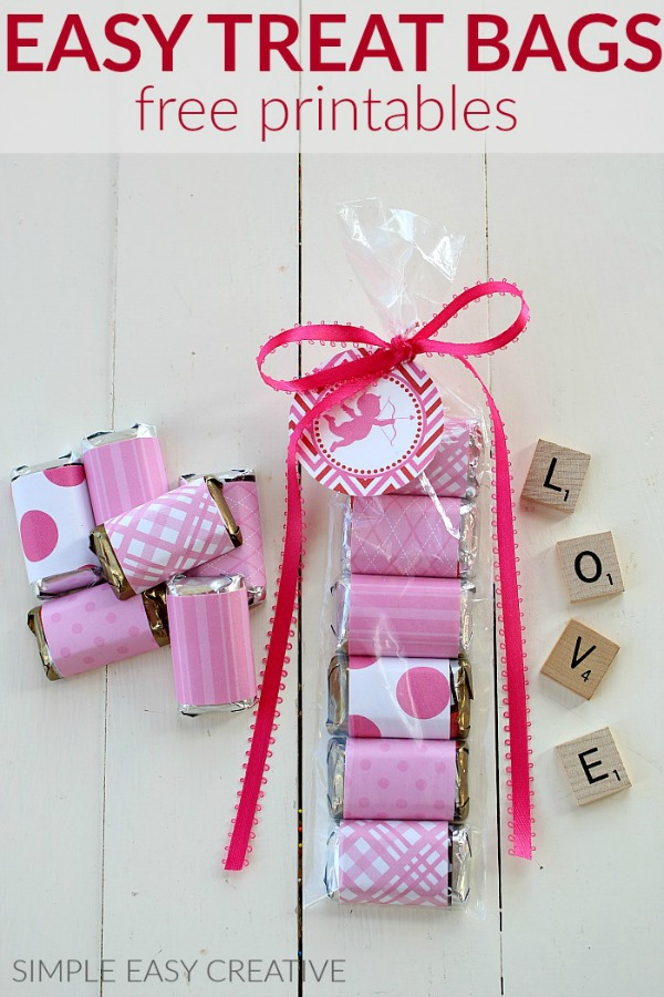 Free Valentine's Day Printables for Treat Bags