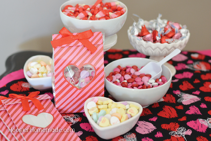 Valentine's Day Party Candy Bar