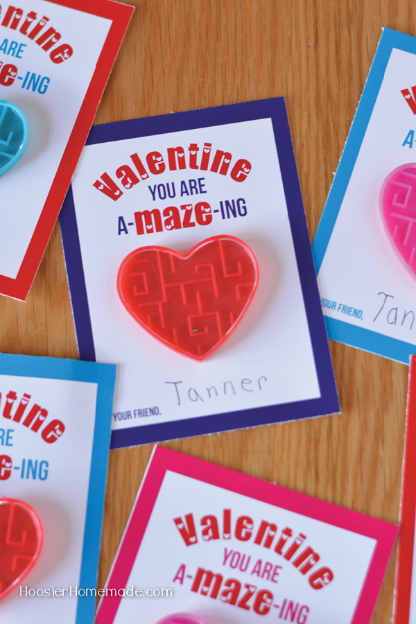 Valentines Day Cards to Print Hoosier Homemade – Valentines Day Card to Print