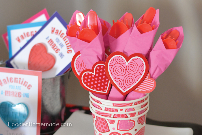 Valentine's Day Party Napkins