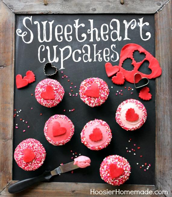 a - Valentine Cupcake Recipes