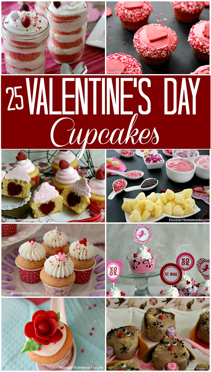 25 Valentine's Day Cupcake Recipes to choose from