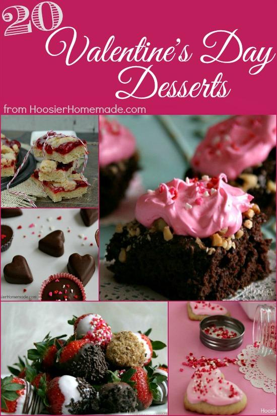 Valentine's Day Desserts from HoosierHomemade.com