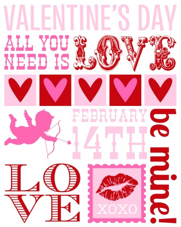 valentine's day subway art and party - hoosier homemade, Ideas