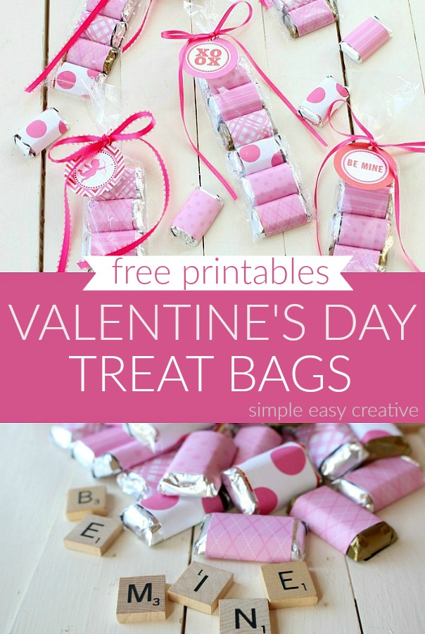 Treat Bags for Valentine's Day