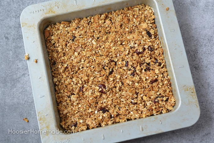 Vanilla Chip Granola Bars