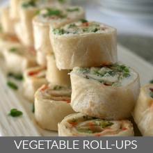Vegetable Roll ups
