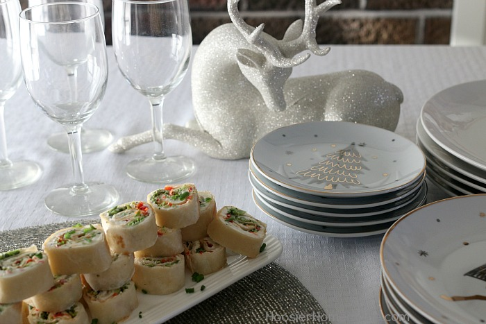 Vegetable Roll Ups with Tortillas