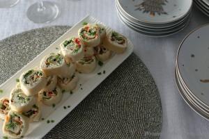 Easy Vegetable Roll Ups
