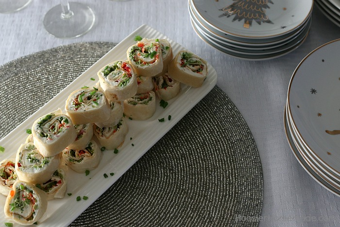Easy Vegetable Roll Ups