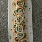These easy to make Vegetable Roll Ups are always a hit! Whip up a batch to take to a party, enjoy during a football game or watching a movie! They make a great Party Appetizer too!