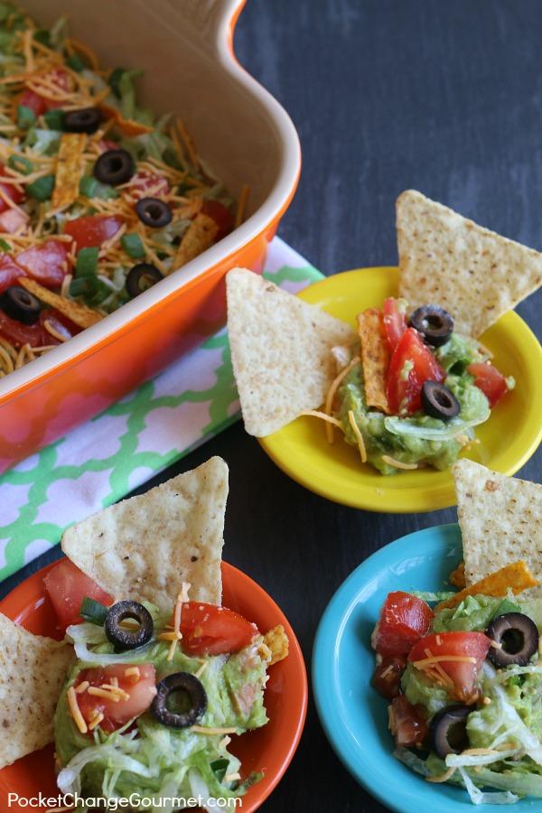 Vegetarian Taco Dip.bowls