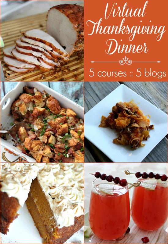 Virtual Thanksgiving Dinner : on HoosierHomemade.com