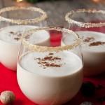 Spiced Eggnog Cocktails : 100 Days of Homemade Holiday Inspiration on HoosierHomemade.com