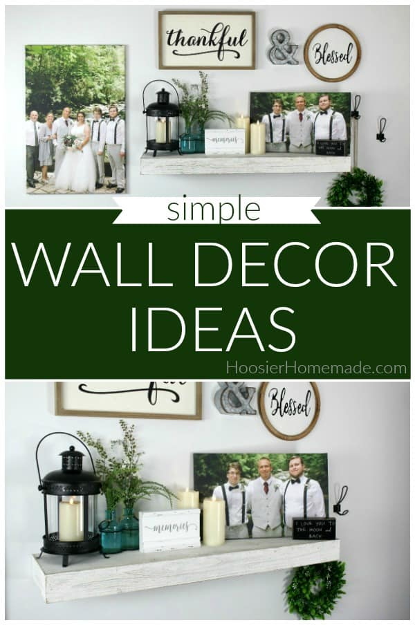 Wall Decor Ideas with Canvas Prints